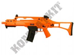 GE6681 G36C Electric AEG Airsoft Machine Gun Black and Orange